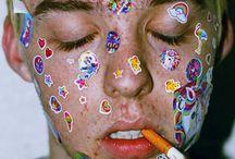 sticker/glitter