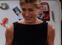 "90-talls stil ""Rachel Green"" Friends / Mote"
