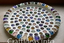 Outdoor Crafts-mosaics & marbles