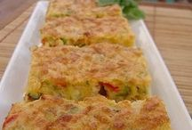 biscocho de verduras y atun.