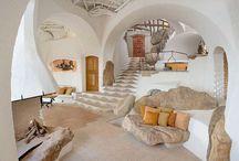 куполные  интересные дома