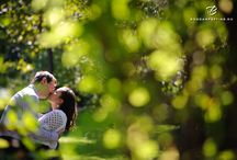 Engagement portraits / engagement portraits, couple portraits, portraits in the sun