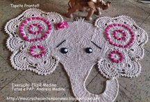 Tapetes / Todos esses modelos têm passo a passo no blog do Meu Crochê Contemporâneo. Link: http://meucrochecontemporaneo.blogspot.com.br/
