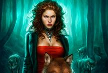"The Mercyverse / I looove Patricia Briggs' books, specifically the world of her werewolves. Most of her werewolf books are focused around the heroine Mercy Thompson, who is not a werewolf but a coyote Shifter, who can take the shape of a coyote at will. Her fans call her world the ""Mercyverse"" because Mercy is just that awesome. It also encompasses the tales of Anna and Charles, an extremely dominant werewolf male and his Omega mate who exist in the same world and time as Mercy and her pack."