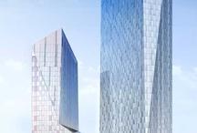 Design moderne / Innovative building design.