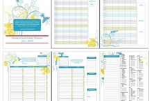 Homeschool Planning / Free and paid homeschool planners for parents who need to organize
