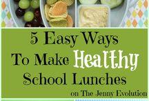 Yummy School Lunch Ideas