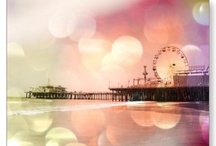Santa Monica Pier Travel Souvenirs / Buy Santa Monica Pier travel souvenirs online and keep those happy memories :-) / by Christine aka stine1