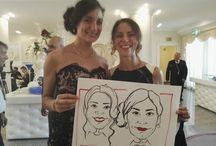Wedding caricature / realizzo caricature live per matrimoni ed eventi
