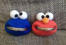 Crochet wallets