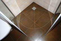 prysznic półokrągły