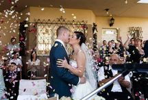 Esküvői szokásokSziromszórás a polgári szertartáson