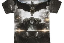 Batman: Arkham Knight T-Shirts & Clothing / Shop t-shirts from the last video game in the Arkham Series - Batman: Arkham Knight at Simply Superheroes. Ships free in the U.S. / by SimplySuperheroes.com