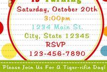 Daniel Tiger birthday party  / by Stacie