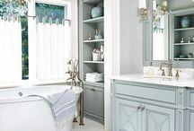 Ванные и туалетные комнаты / Заказать изготовление индивидуальных предметов мебели и встройки для дома и ванных комнат можно по почте info@aboutinout.ru