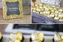 Gold and Black 30th Birthday Party Ideas