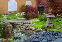 Yard - dry stream bed