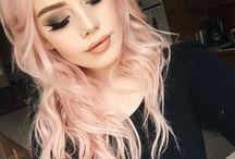 crazy färg hår