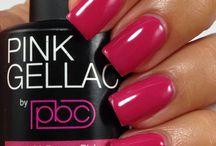 Pink Gellac gel polish