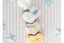 bebek ve düğün kurabiyeleri