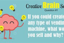 Creative Brain Series / Answer interesting questions to encourage creativity, imagination and conversation.