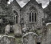 Kostely,hřbitovy,boží muka