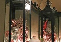 Lanterns and Christmas Balls