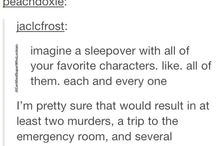 ♡Fictional Characters!♡