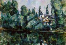 Paul Cézanne ( 1839 - 1906 ) Pintor francês / Pós-impressionismo / Arte Moderna.