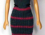 habits tricot et crochet Barbie