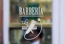 vinilos decorativos y decoración de peluquerías, barberías y centros de bellea / Ideas en vinilo adhesivo para la decoración de peluquerías,barberías, centros de estética y belleza.Son ideales tanto para decorar las paredes como mostrarlos en escaparates y vidrieras para que sean visibles desde el exterior del local.