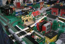 Lego Scenery by Mike Gallagher
