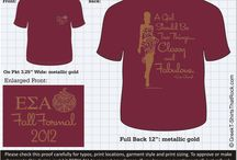 Epsilon Sigma Alpha T-Shirts That ROCK! / Epsilon Sigma Alpha #esa #epsilonsigmaalpha Customize this design for your chapter. Just save the image, click it and upload it here... http://www.greekt-shirtsthatrock.com/custom-proof/ / by Greek T-Shirts That Rock