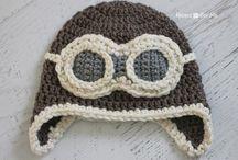 czapki na szydełku