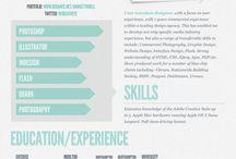 CV / creative CVs