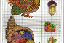 Cross Stitch - Holidays, Seasons, & Calendars