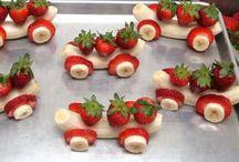 Bocados de fruta.