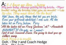 Percy Jackson & Helden des Olymp / Percy Jackson Helden des Olymp Percy Annabeth Nico Leo Jason Hazel ...
