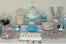 Baby Boy Shower Candy Buffet Ideas