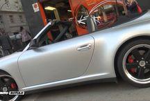Porsche 911 4S Cabrio en Gris Plata Mate Metalizado? Car Wrapping by Pronto Rotulo / Pocos coches verás con semejante cubierta trasera como este Porsche Cabrio, así te darás cuenta x donde viene la idea de la gráfica envolvente, no?  Ahora lo puedes ver terminado! Vinilado integral Porsche Carrera 4S Cabrio de Blanco a Gris Plata Mate Metalizado con materiales MacTac alta gama Wrap.  + info en http://www.prontorotulo.com/ + info en https://www.facebook.com/prontorotulo + info en https://www.twitter.com/prontorotulo + info en https://www.youtube.com/prontorotulo / by Pronto Rotulo