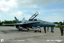 "Ex Bersama Shield 2015 - Fighter Landaways / An RSAF-RMAF (Royal Malaysian Air Force) fighter landaway took place last week with 2 F-16D+ and 2 F/A-18D in Kuantan Airbase and Changi Air Base (East) respectively.  ""The Fighter Landaway was an excellent opportunity for us to conduct professional exchanges, as well as to build strong personal friendships with our RMAF counterparts."" - RSAF's LTC Chan Ching Hao, CO of 145 SQN."