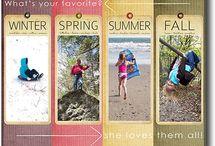 Scrapbook layouts / by Mrs. Dawson