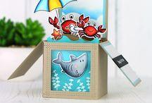 Box cards - cute