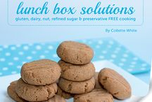Cut out the Crap 'Lunch Box Solutions' / MINI COOKBOOK! Gluten free, Dairy free, Preservative / Additive free, Soy free, Nut free, Refined Sugar free!