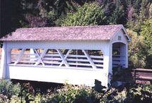 Covered bridges Oregon