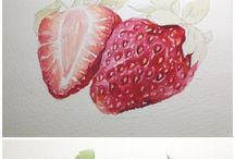 watercolour step By step