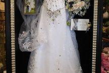 Wedding dress display ideas