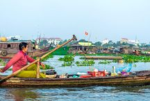 Viet Nam / Viet Nam is one of the six countries in the Greater Mekong Subregion (GMS), It's the easternmost country on the Indochina Peninsula in Southeast Asia.  For more information about Myanmar and GMS : http://www.tourismmekong.org/index.php/experience-mekong/vietnam/