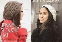 crochet hat grownups headwarmer