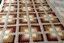 motif örgü battaniye